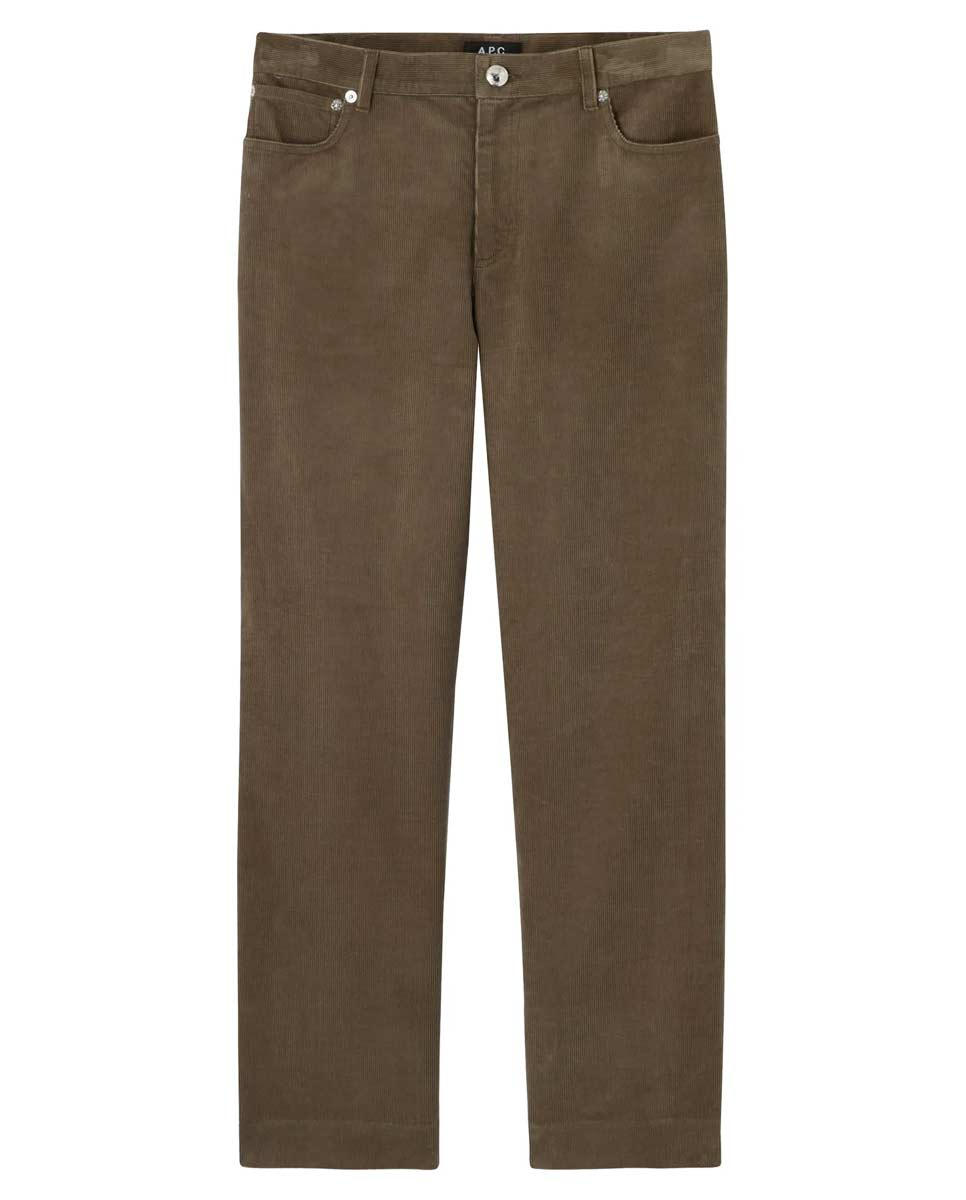 APC AW20 Sailor jeans taupe front-Diverse