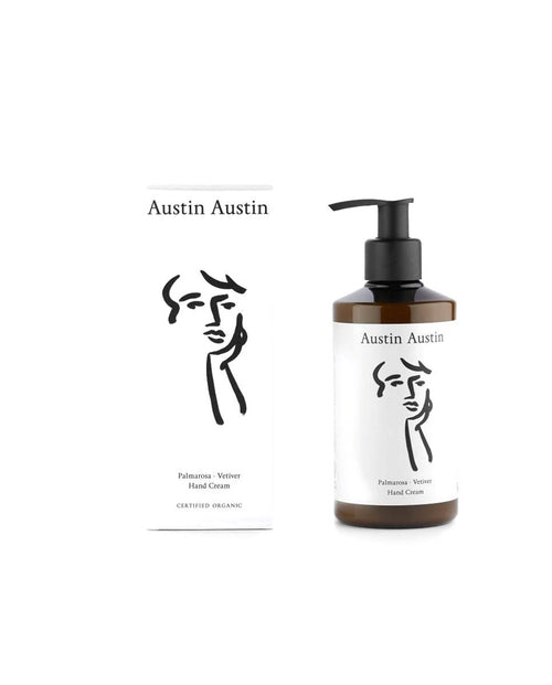 Austin Austin Palmarosa & Vetiver hand cream 250ml