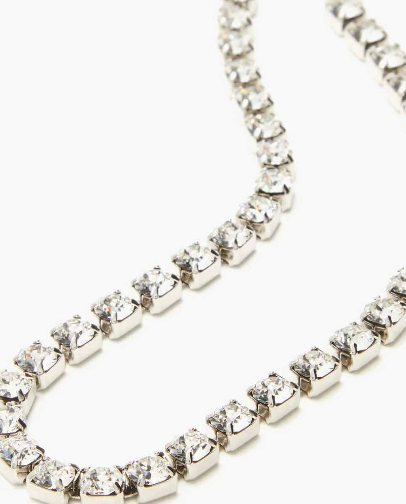 ISABEL MARANT Crystal necklace side-Diverse