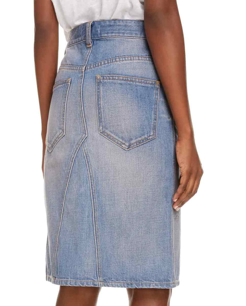 ISABEL MARANT ETOILE - Fiali skirt denim back-Diverse