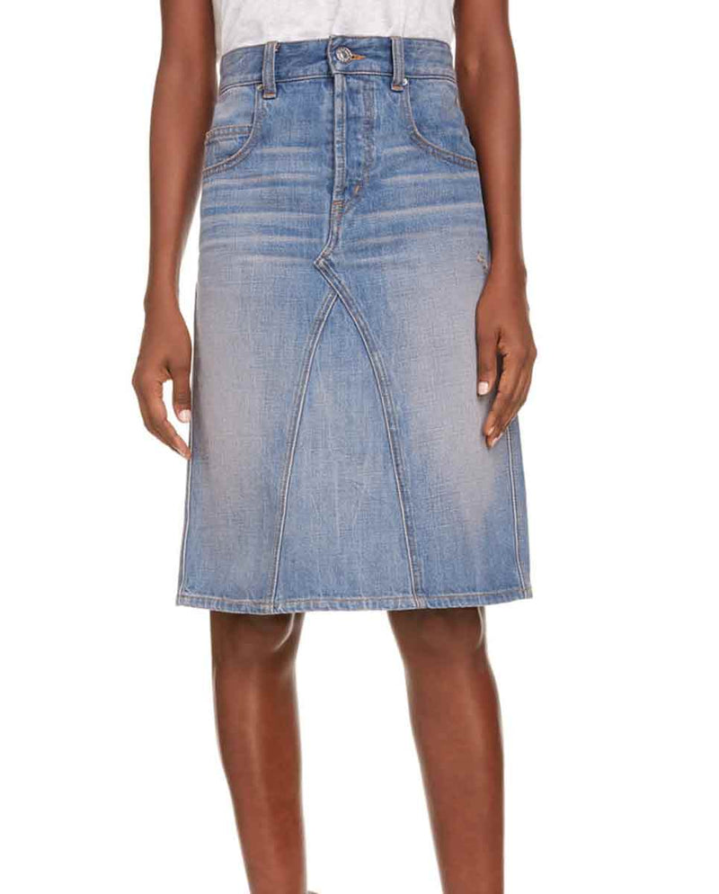 ISABEL MARANT ETOILE - Fiali skirt denim lookbook-Diverse