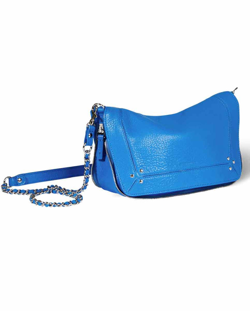 JEROME DREYFUSS Bobi S Handbag Gitane Blue-SIDE