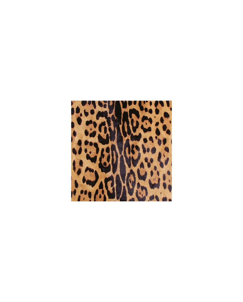 Jerome Dreyfuss Clic Clac M clutch bag Leopard-Fabric