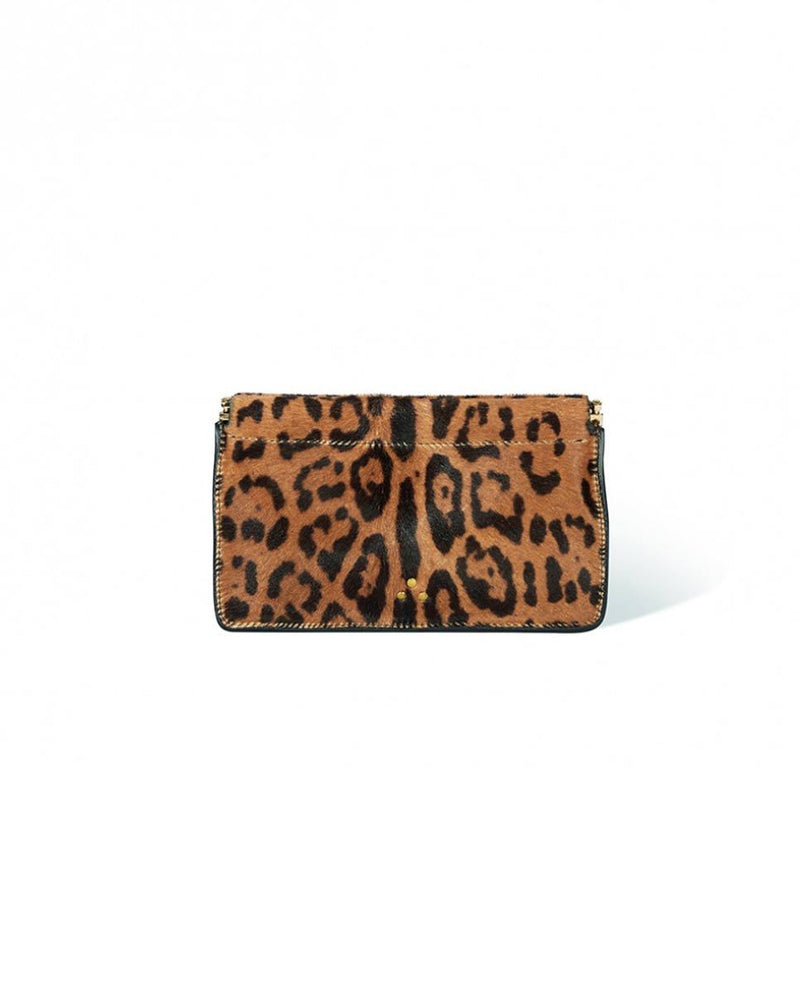Jerome Dreyfuss Clic Clac M clutch bag Leopard