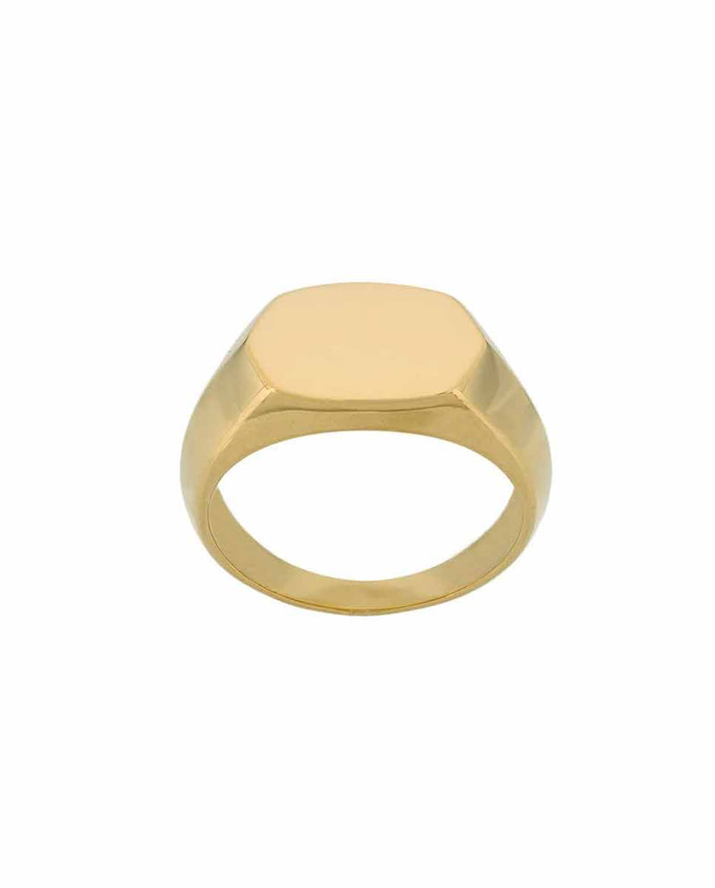 MARIA BLACK Gordon ring gold front -Diverse