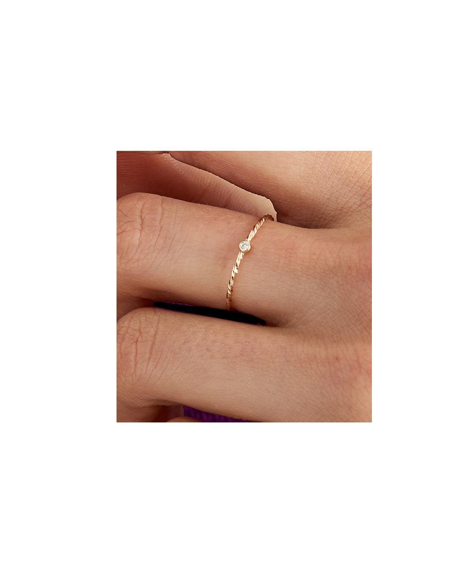 Maria Black Jabari ring 14k gold lookbook-Diverse