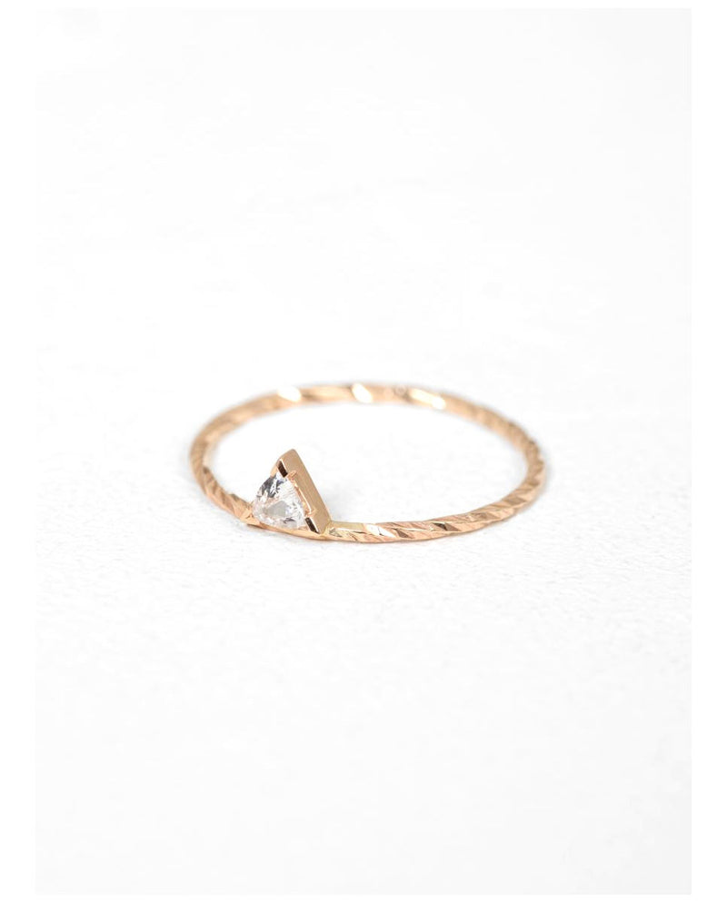 Maria Black Viper ring 14k gold side-Diverse