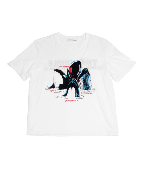 Mirja Rosendahl Song of the Whale tee shirt white