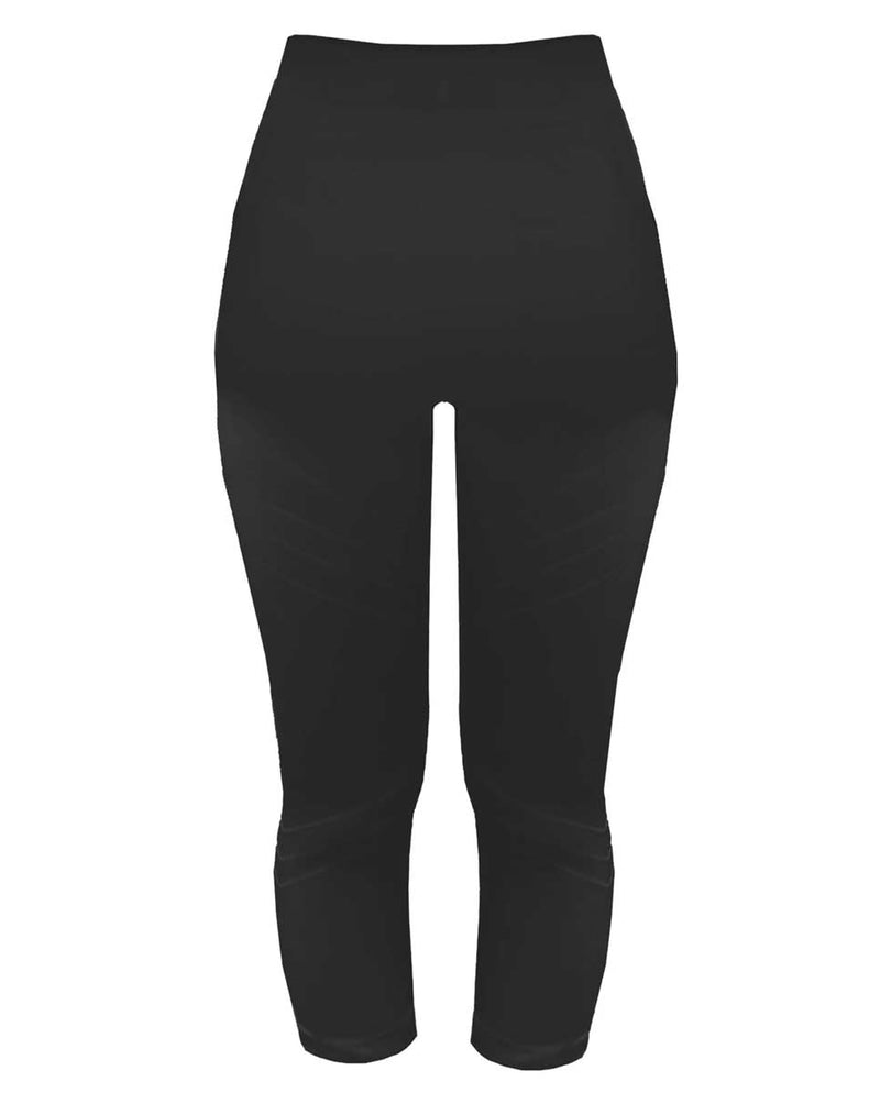 PRISM Motion 3/4 Leggings Black Back-DIVERSE