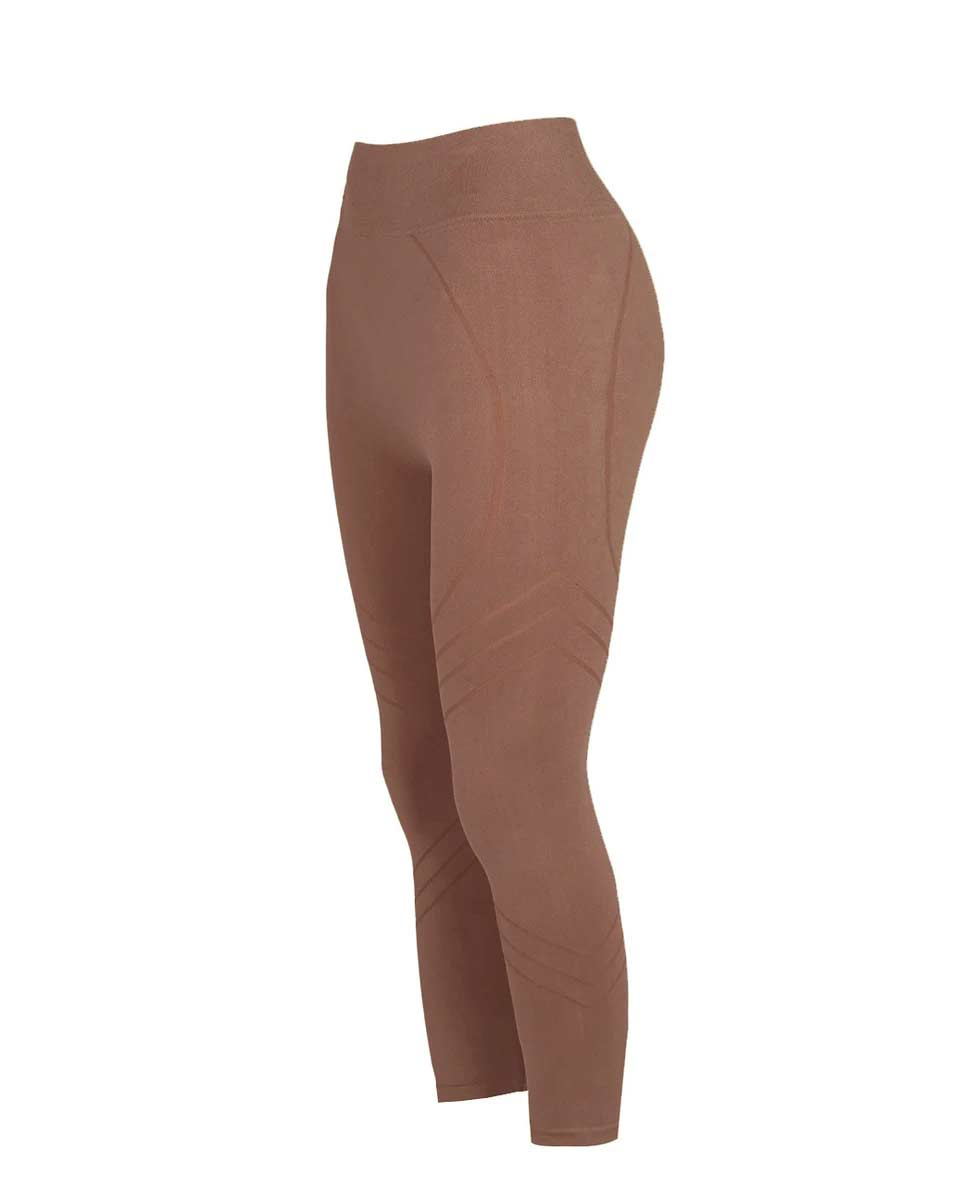PRISM Motion 3/4 Leggings Rusty pink Side-DIVERSE