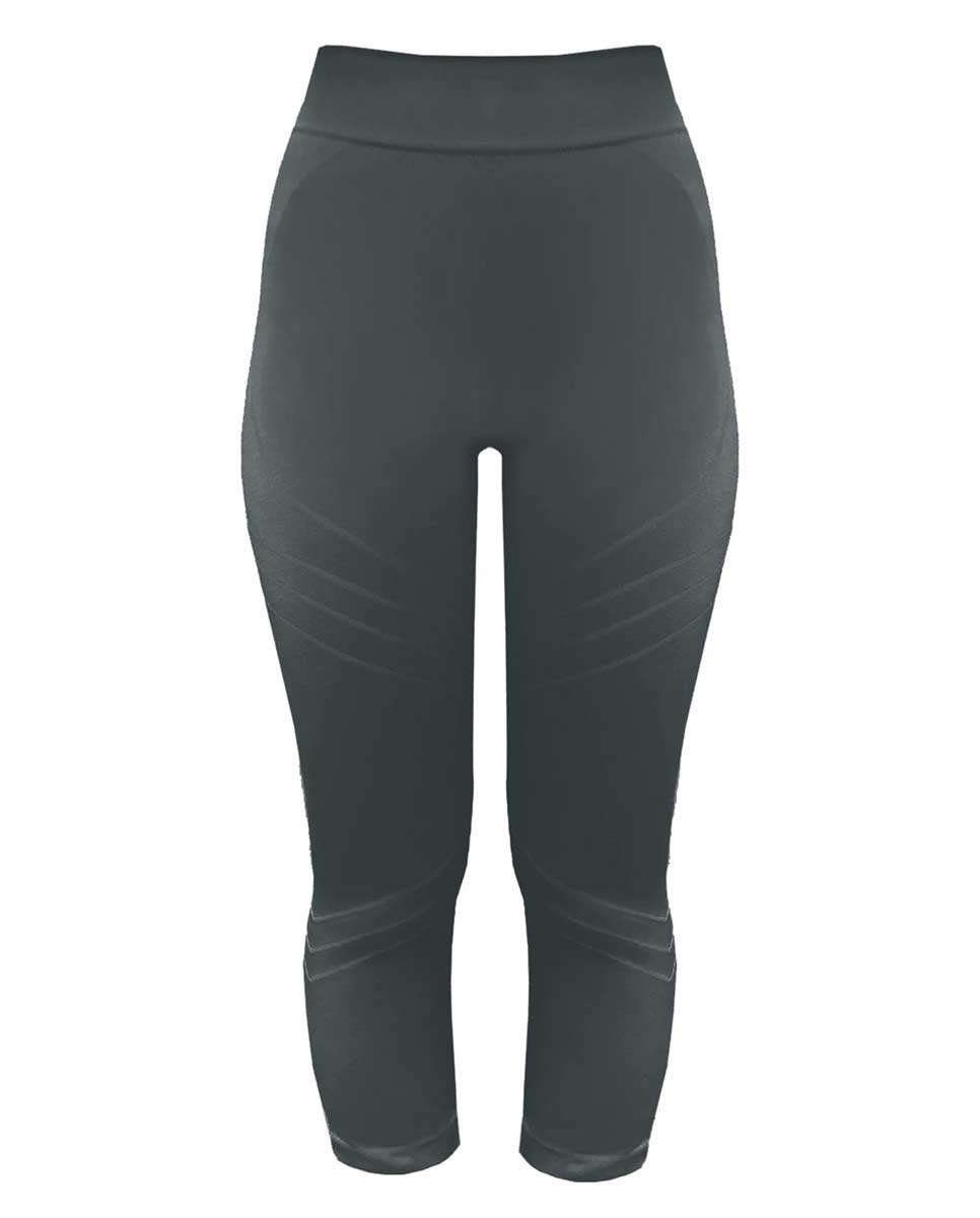 PRISM Motion 3/4 Leggings Slate grey Front-DIVERSE
