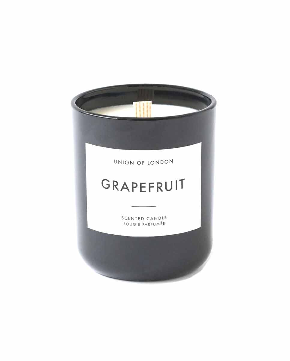 UNION of LONDON Grapefruit candle black large-DIVERSE