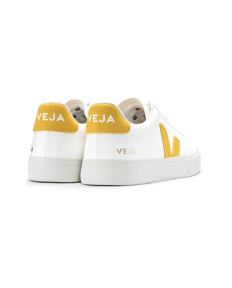 Veja Campo trainers white yellow back-Diverse