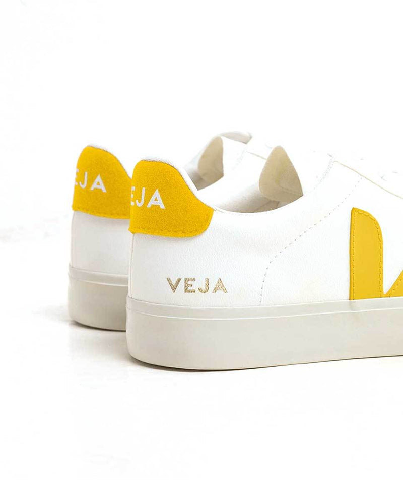 Veja Campo trainers white yellow detail-Diverse