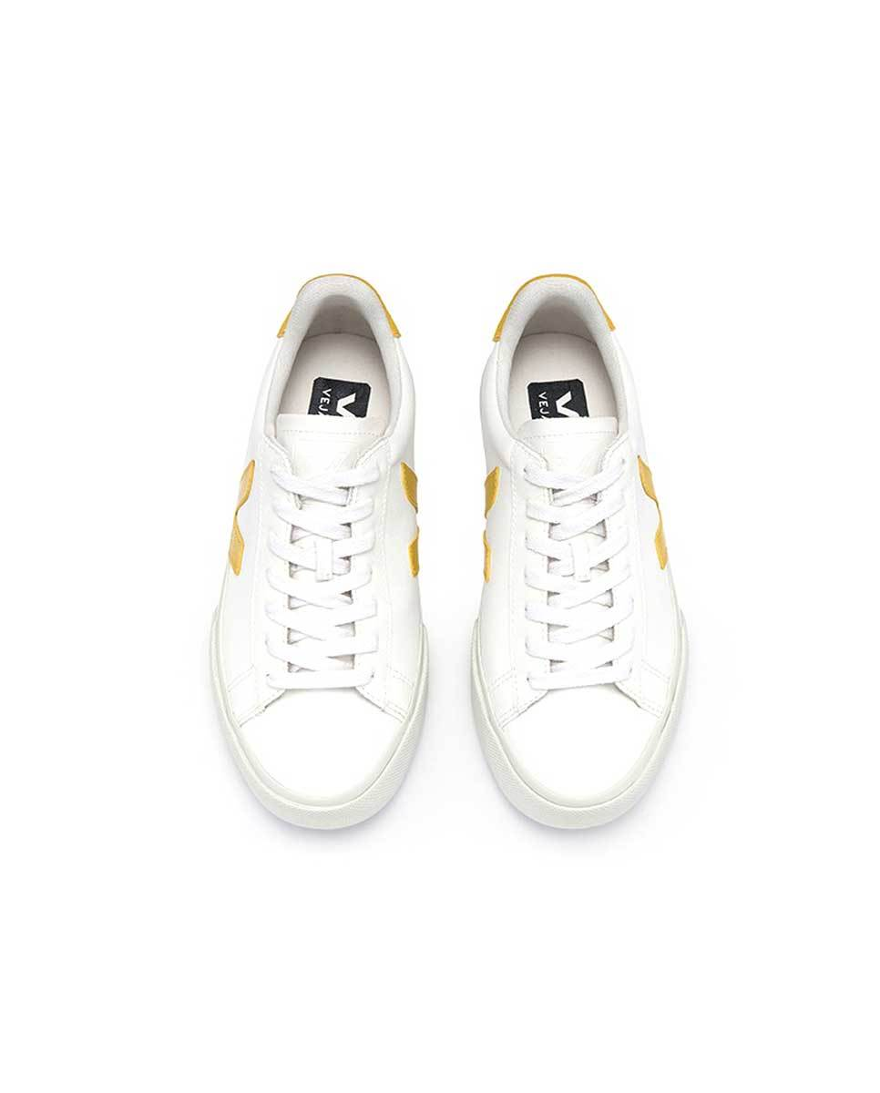 Veja Campo trainers white yellow top-Diverse