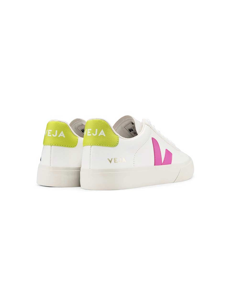 Veja Campo trainers white ultraviolet back-Diverse