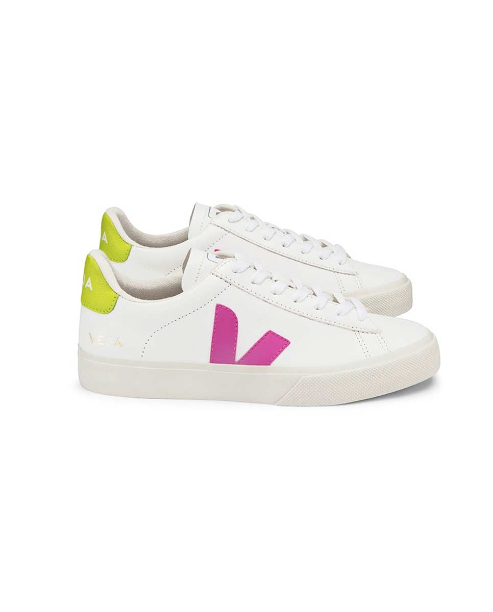 Veja Campo trainers white ultraviolet profile-Diverse