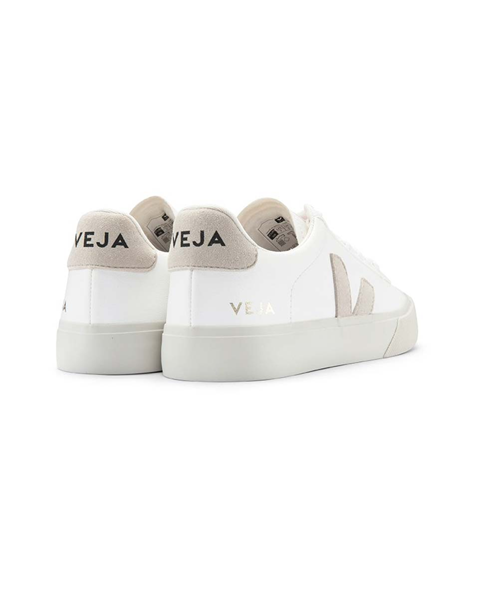 Veja Campo trainers white natural back-Diverse