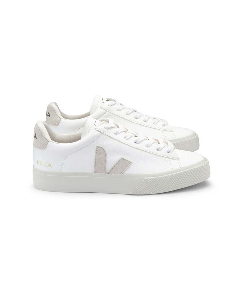 Veja Campo trainers white natural profile-Diverse