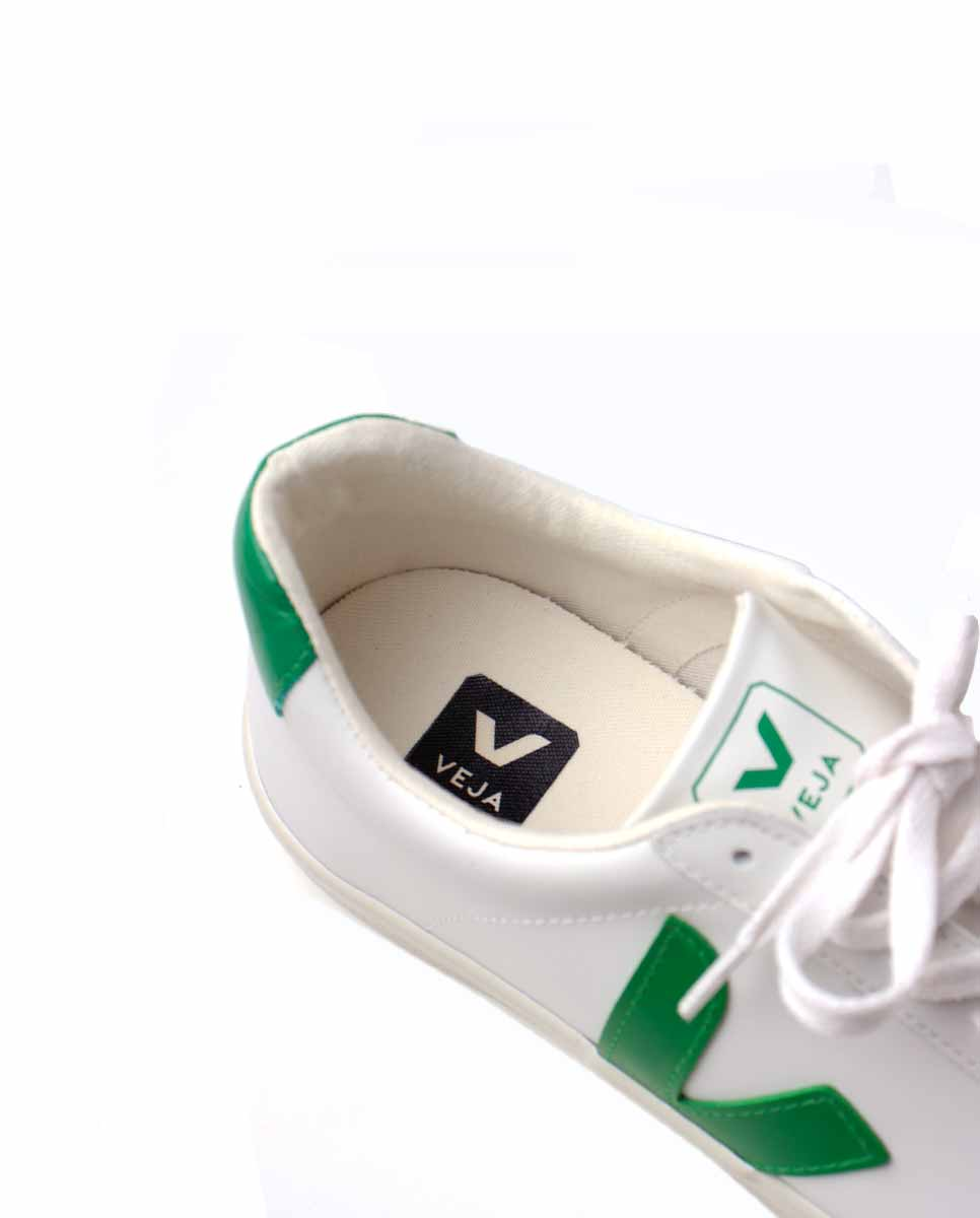 Veja Esplar Leather trainers extra white emeraude-Diverse