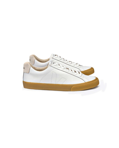 Veja Esplar trainers white leather natural sole