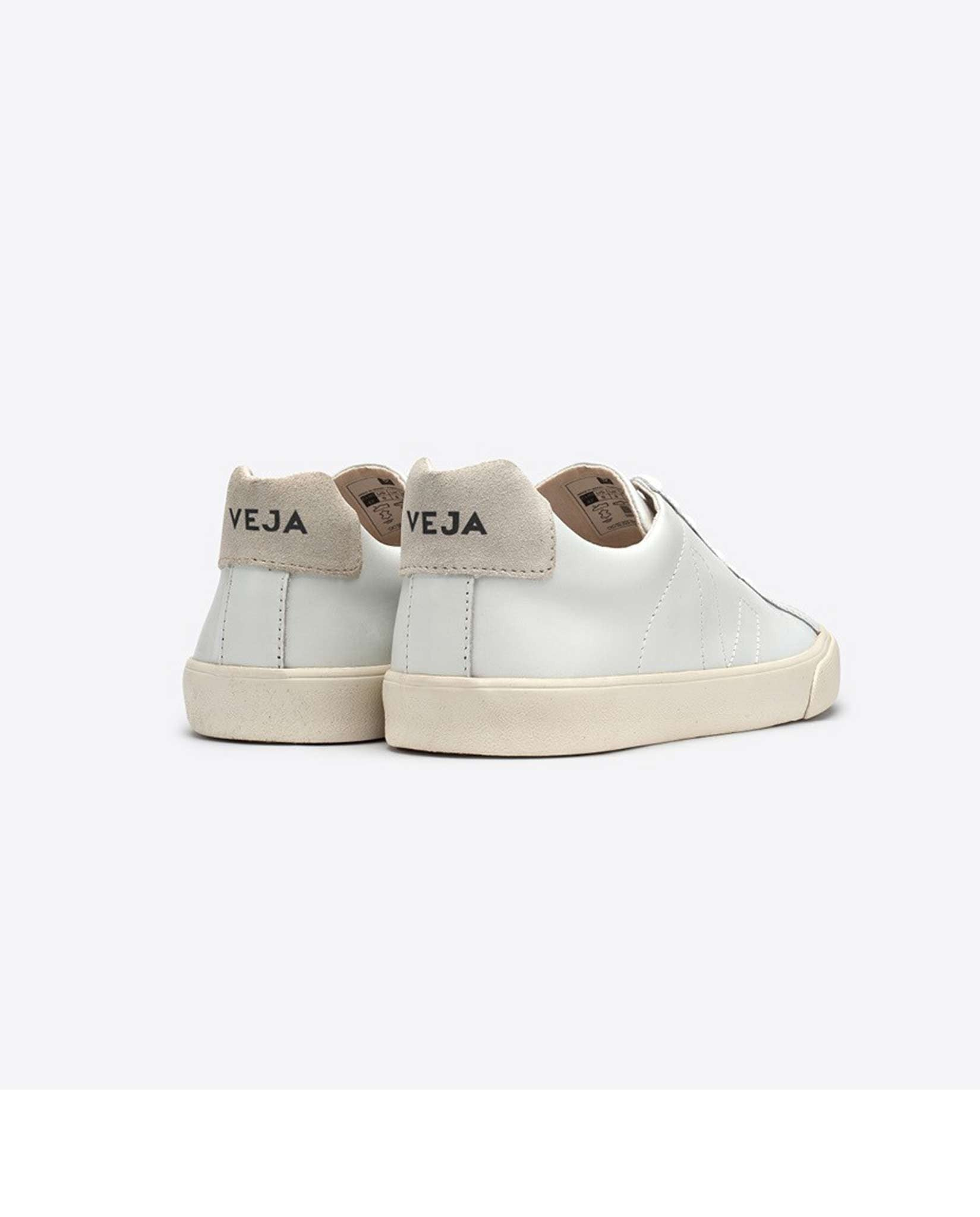 Veja Esplar leather trainers white on white-Diverse