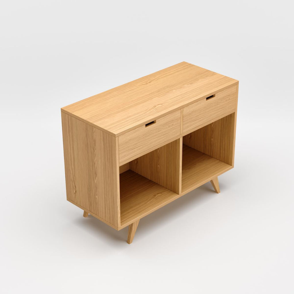 Oak Sideboard With Drawers - Kube Designs