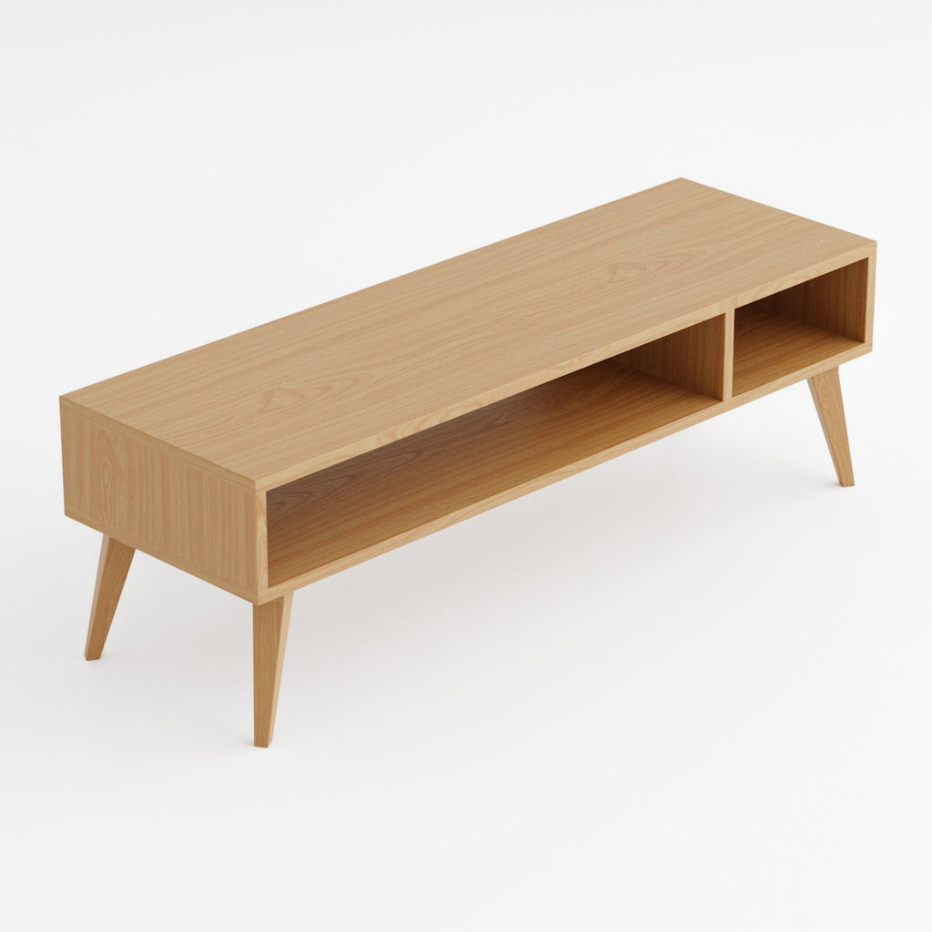 Solid Oak Coffee Table - Kube Designs
