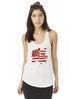 USA Rose - Womens Graphic Tank Top