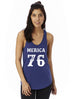 MERICA 76 - Womens Graphic Tank Top