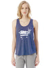 USA 'GOAT' - Womens Graphic Tank Top