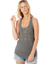 W-I-L-D - Womens Graphic Tank, Crossed Arrows