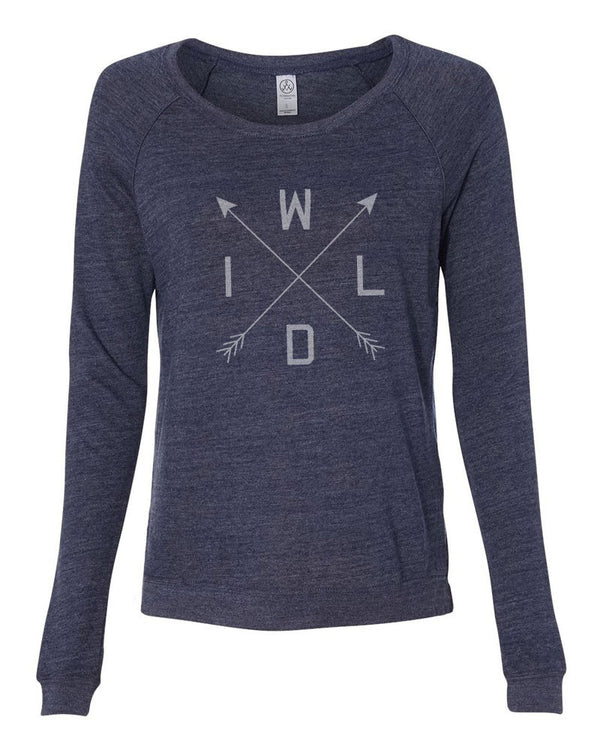 W-I-L-D - Womens Long Sleeve Shirt