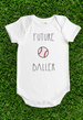 Baseball Baby Bodysuit - Future Ballers Collection
