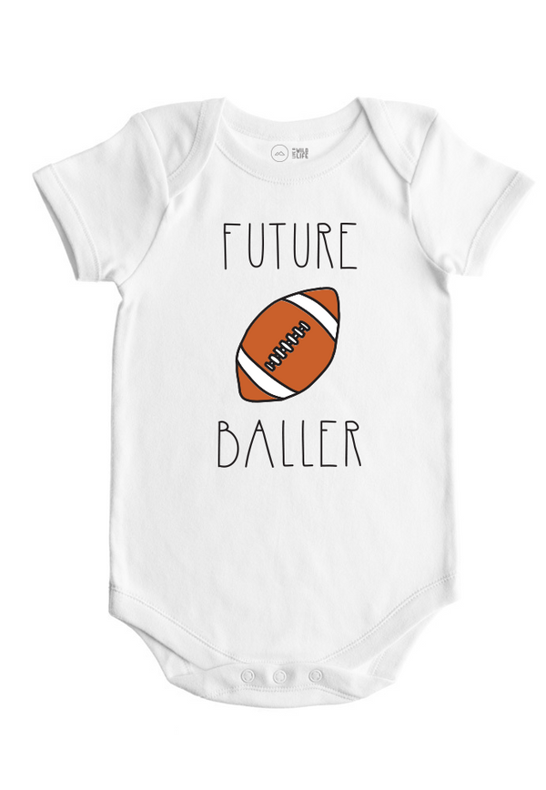 Football Baby Bodysuit - Future Ballers Collection