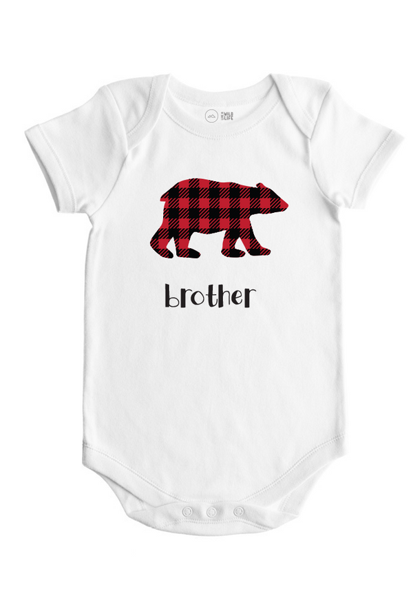 Brother Bear - Baby Bodysuit - Forest Critters Collection