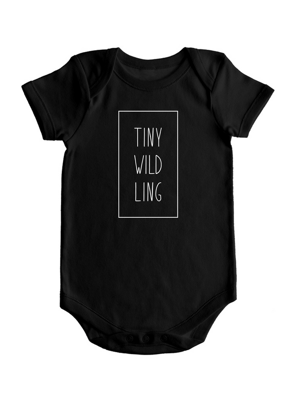 TINY WILDLING - Hipster Baby Bodysuit - Game of Thrones Baby