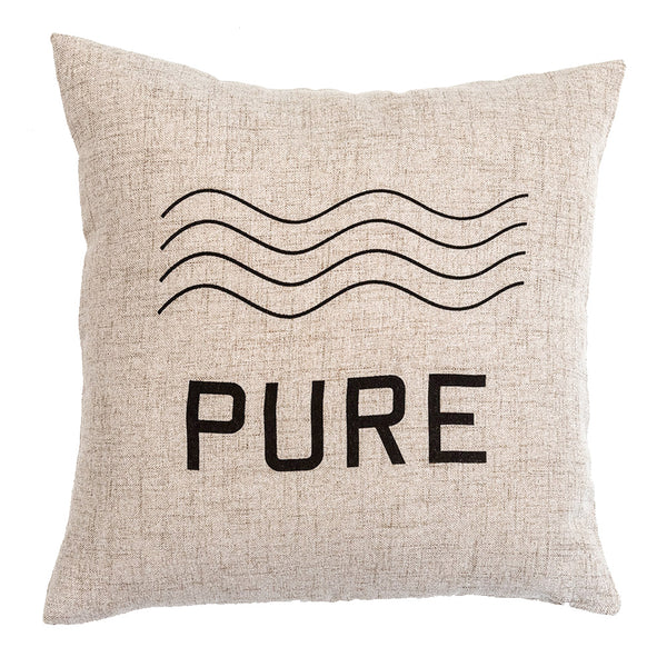 PURE - 18x18in Throw Pillow - Cabin/Trailer Accent Pillow