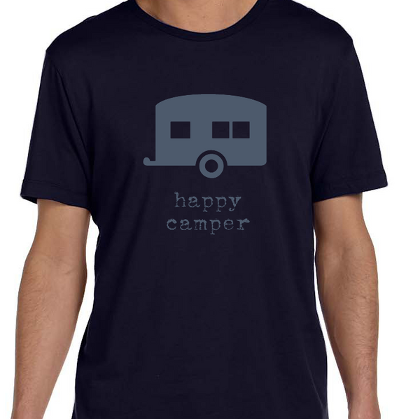 Happy Camper - Mens Graphic Tee