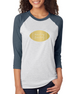 Sunday Funday - Womens 3/4 Sleeve Raglan