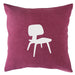 Midcentury Chair - 18x18in Throw Pillow - Classic Silhouettes