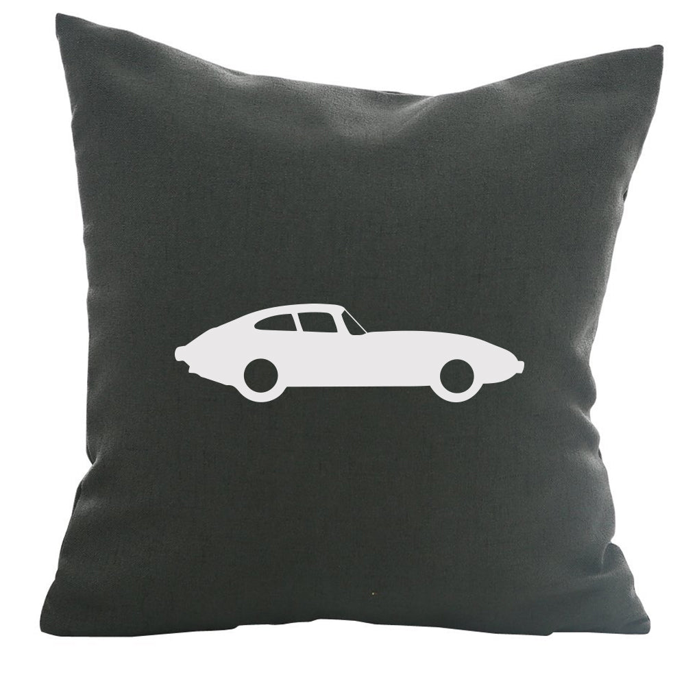 JXKE Sportscar - 18x18in Throw Pillow - Classic Silhouettes ? Live a Wild Life