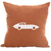 JXKE Sportscar - 18x18in Throw Pillow - Classic Silhouettes