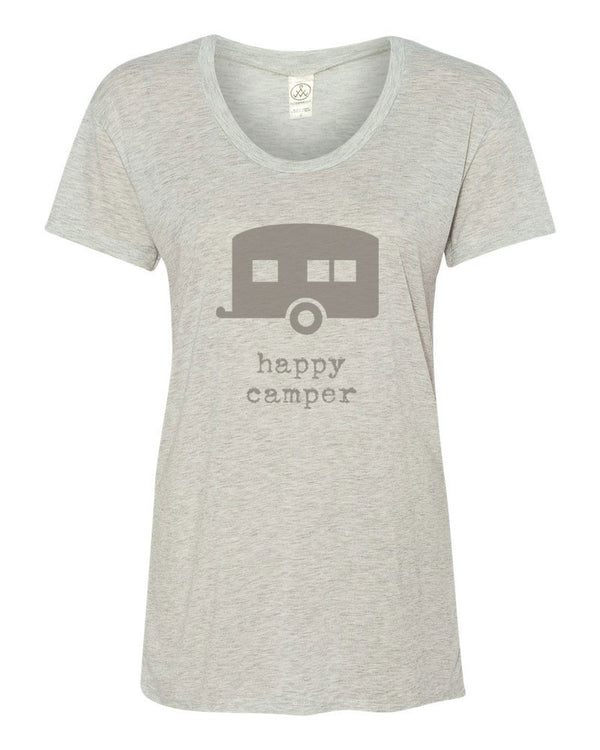 Happy Camper - Womens Graphic Tee