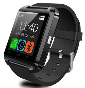 U Watch Smart Watch Bluetooth Watch for Android smartphones and iPhone(Black) - powerbanks - Sky & Fly - Sky & Fly