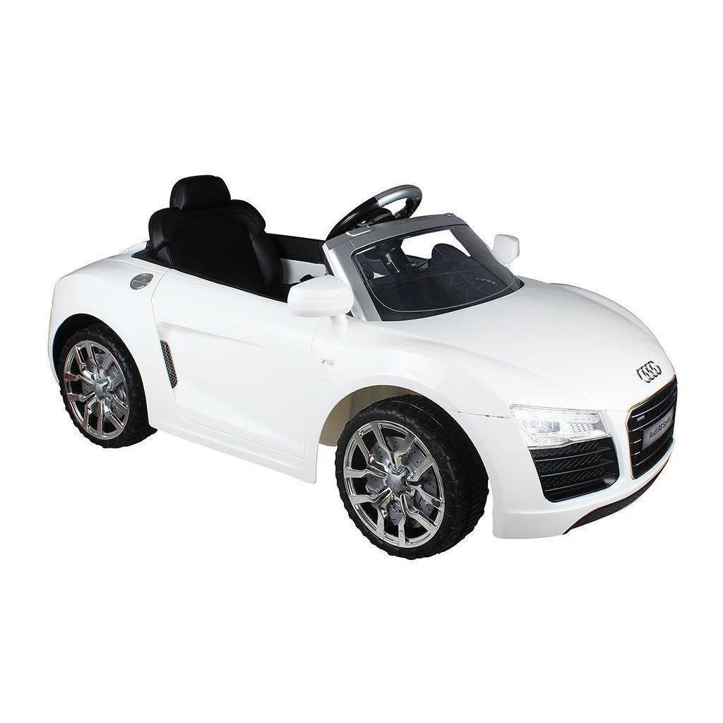 Audi V RS Electric Kids Ride On Toy Cars With Parental Remote - Audi electric toy car