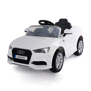 Audi A3 Licensed RC Kids Ride On Electric Toy Cars With Parental Remote Control 6V - Toy Cars - TechHype - Sky & Fly