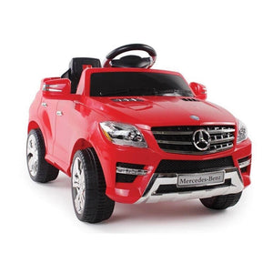 Mercedes ML-350 Kids Ride On Electric Toy Car with Parental Remote Control - Sky & Fly