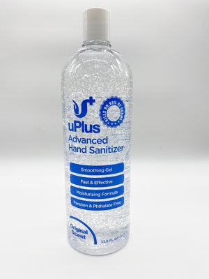 uPlus 1L Advanced Hand Sanitizer - Kills 99.99% of Germs