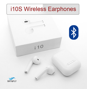 i10S Bluetooth Wireless Earphones for IOS & Android - Bluetooth Earphone - Sky & Fly - Sky & Fly